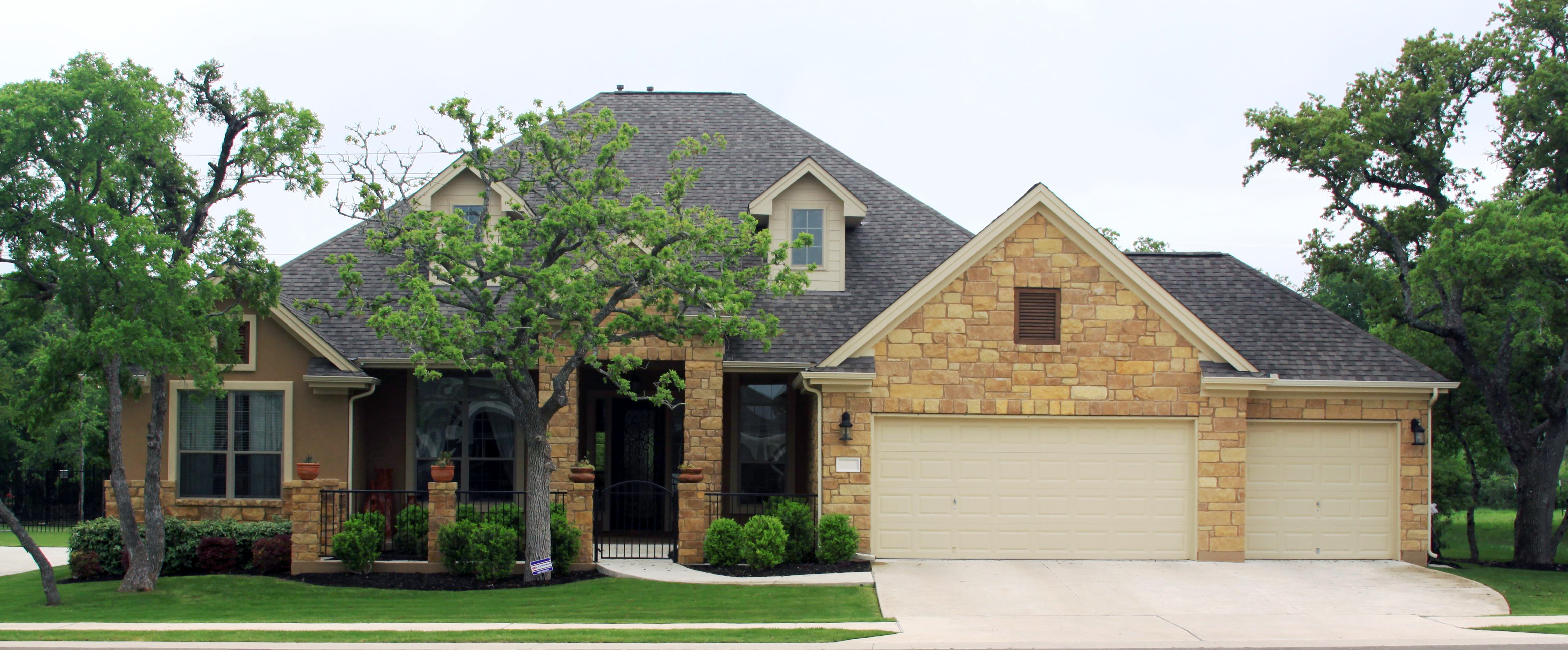 Exterior house designs with stone