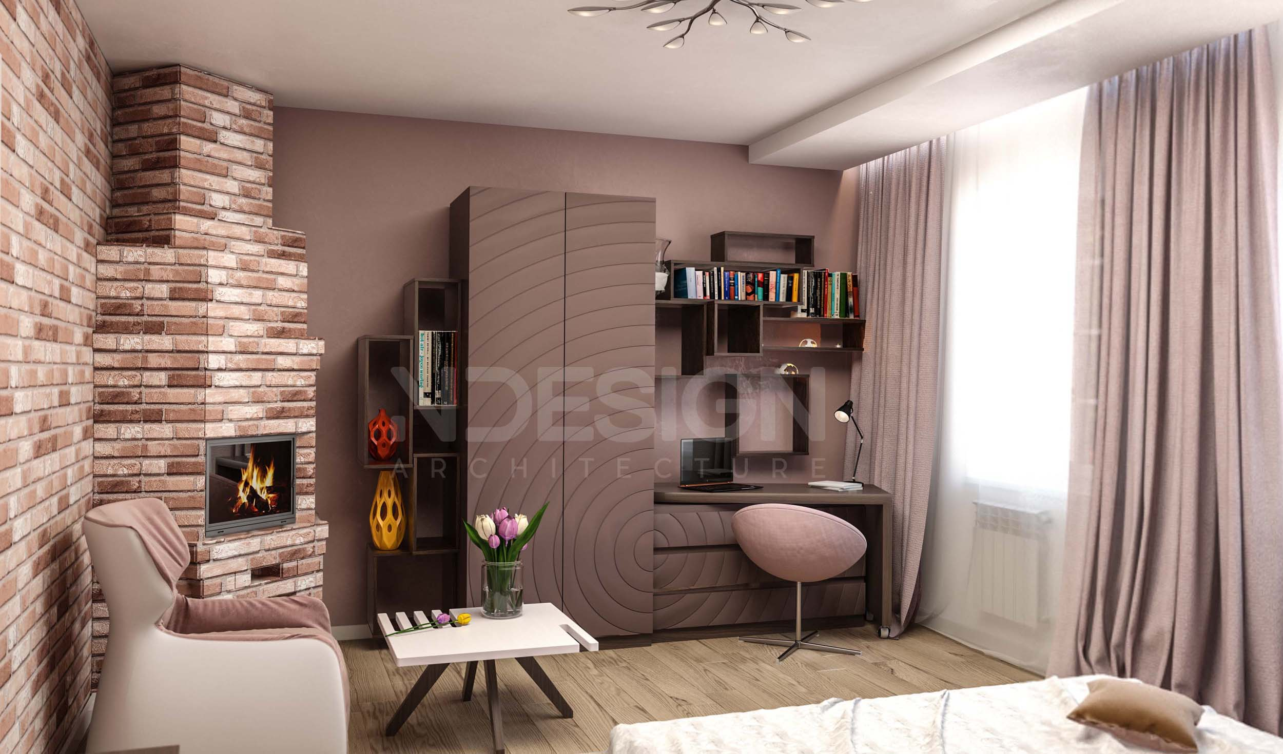 Дом в Ставище-Спальня