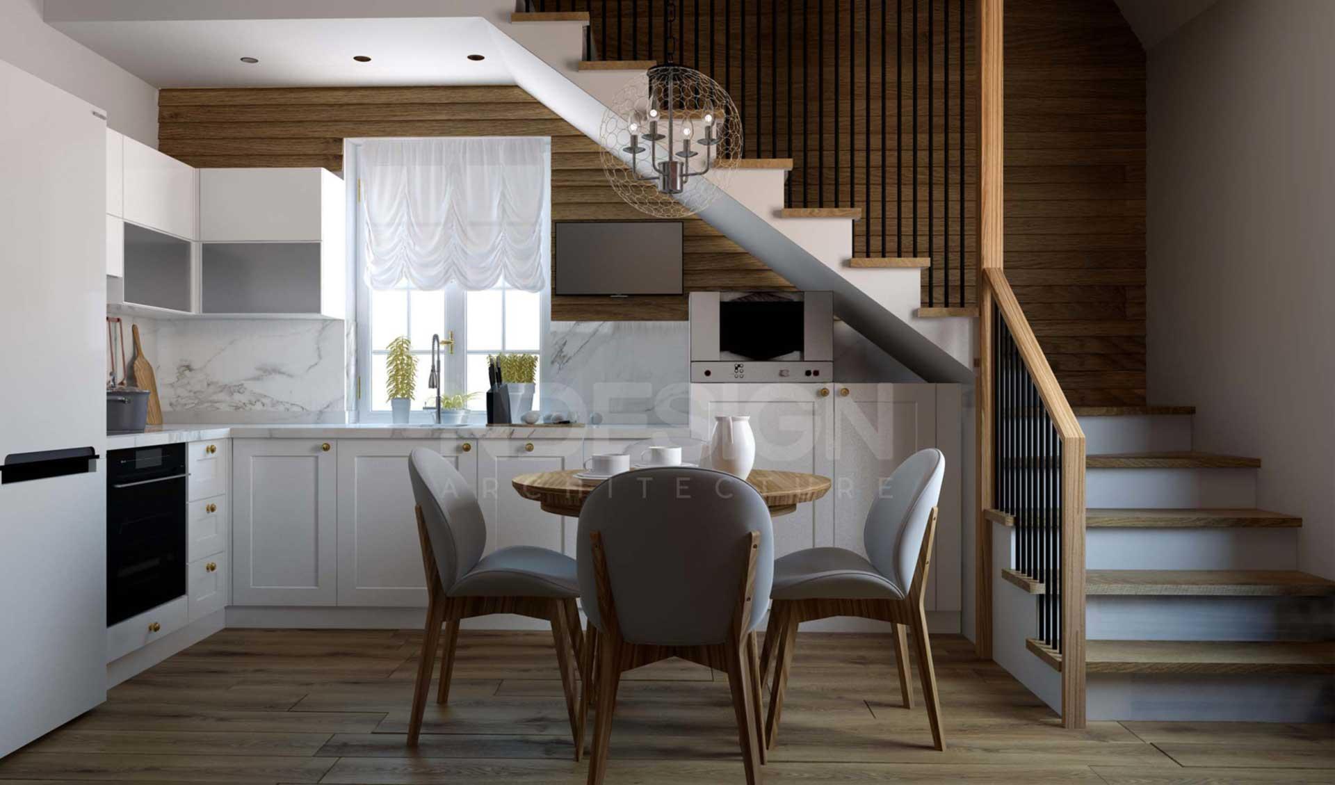Дом в Ставище-Кухня