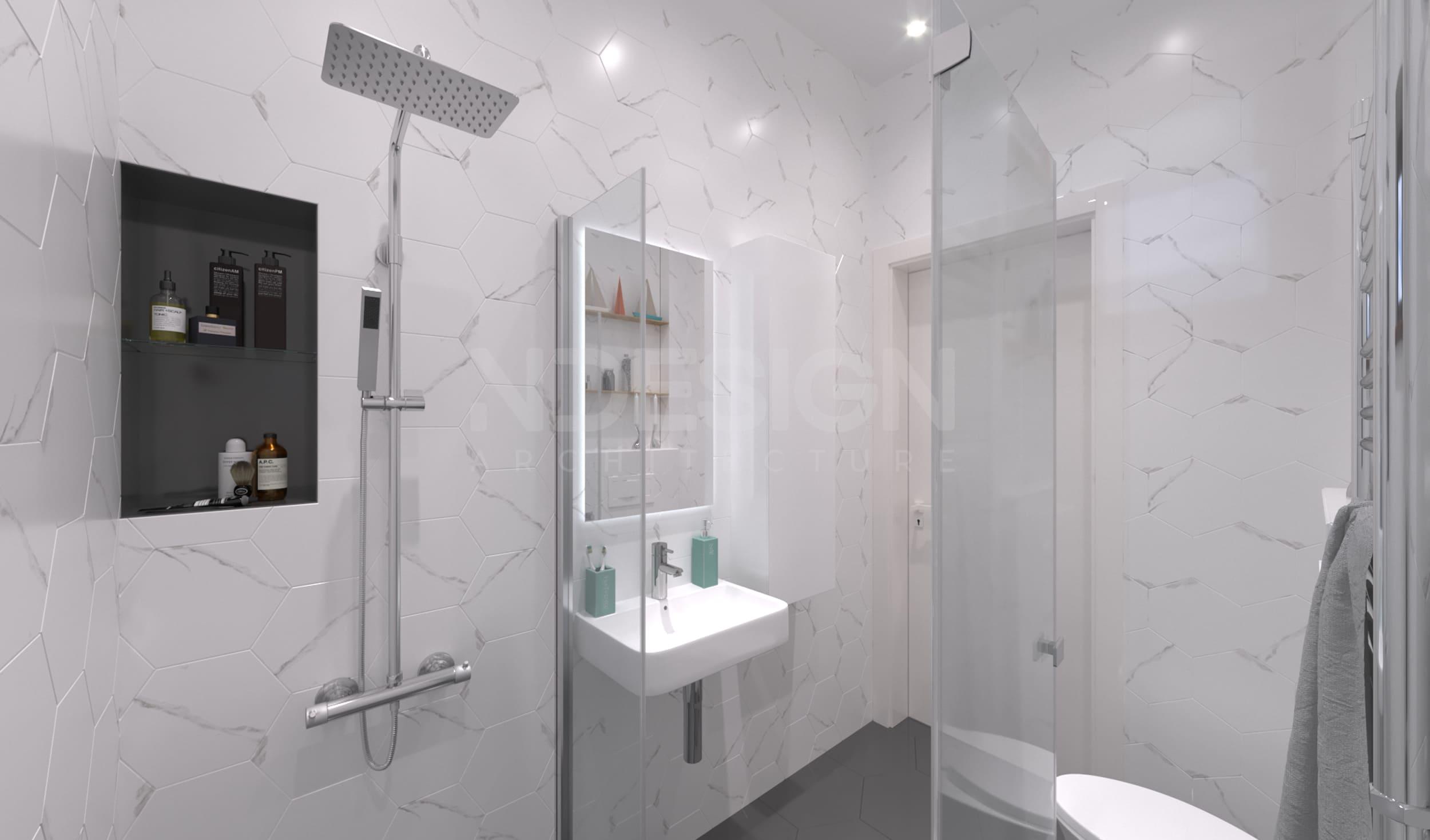 Дом г.Боярка 1 этаж Ванная