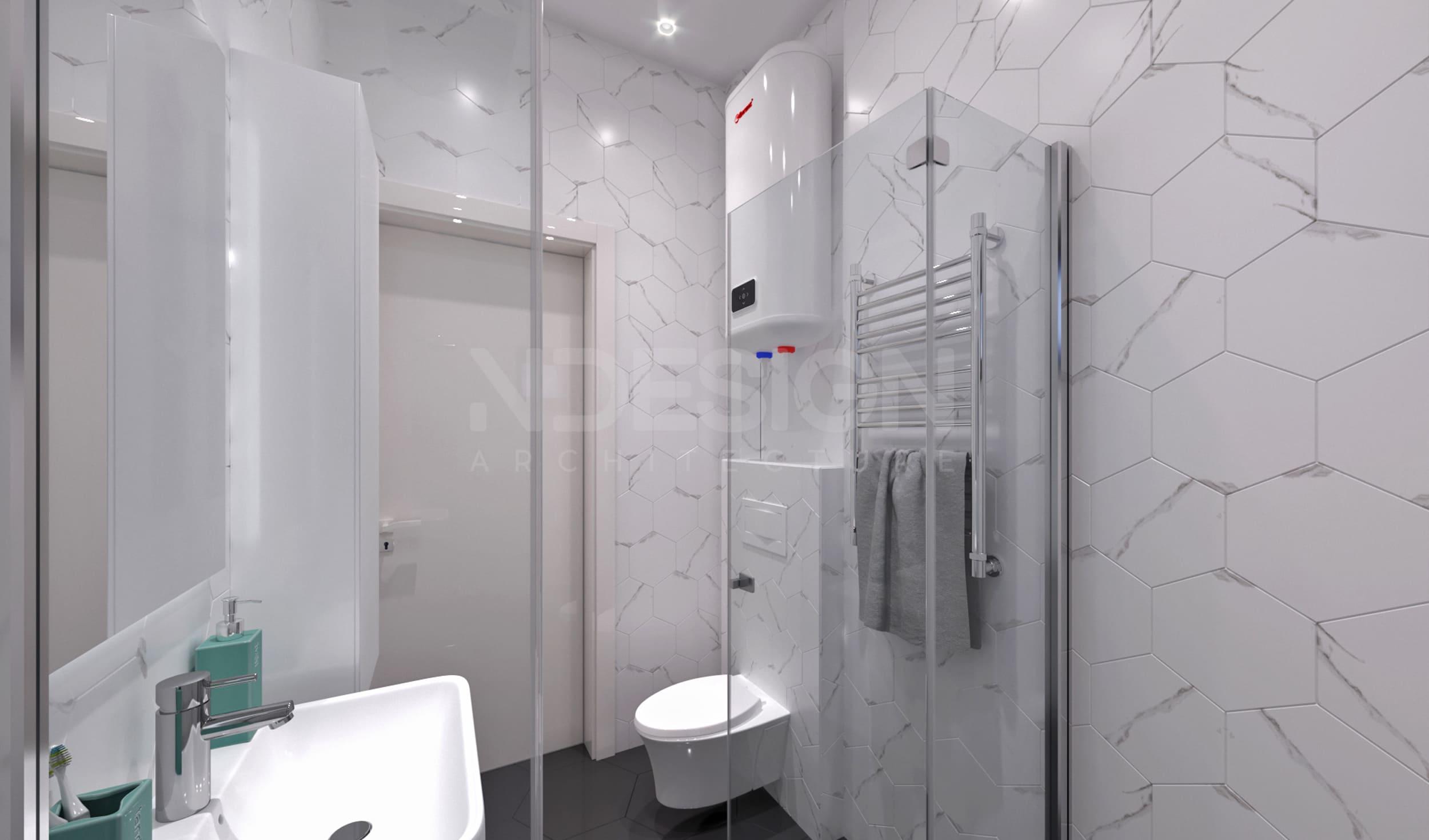Дом г.Боярка 1 этаж Ванная 2
